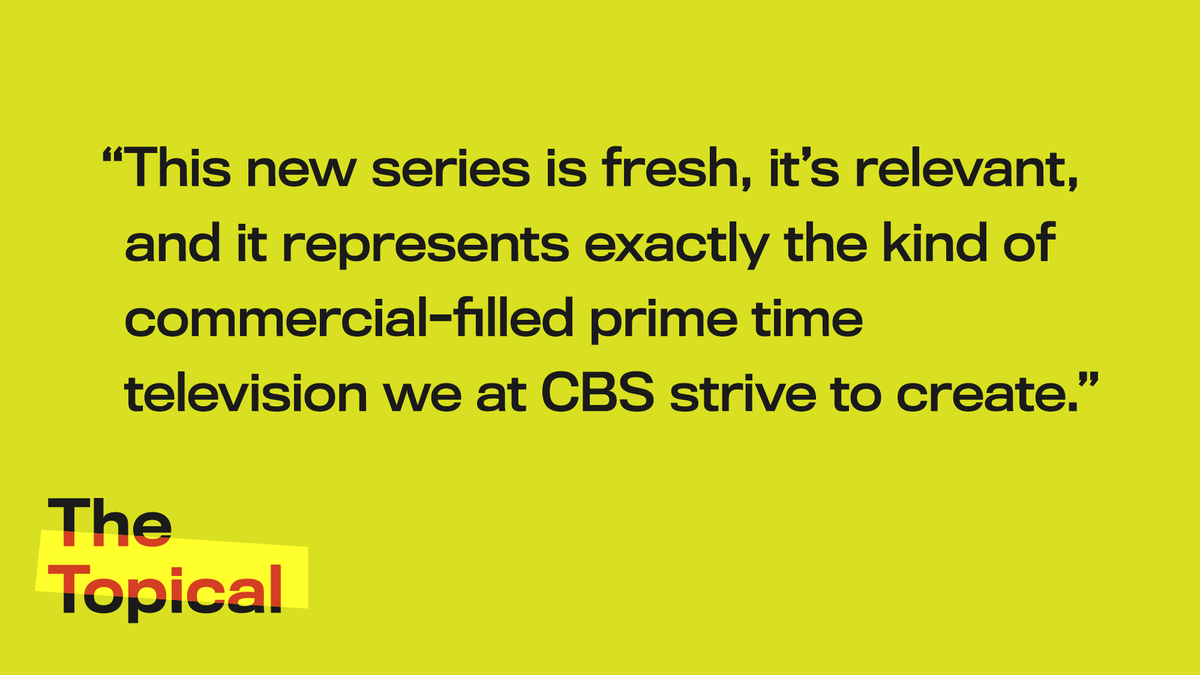 Episode 022 of The Topical: CBS Inks Deal For 30-Episode Bloomberg Ad https://trib.al/eT6dC40