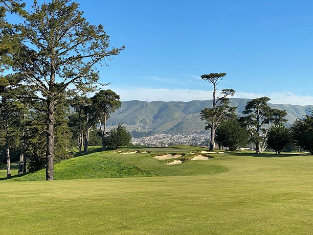 Amazing views at Cal Club from last week. haskamm liked it better than Cypress Point  calclimbingsoup #calclub #golf #instagolf #californiagolf https://www.instagram.com/p/B9GHsUZlCni/ pic.twitter.com/xScreF6t5z