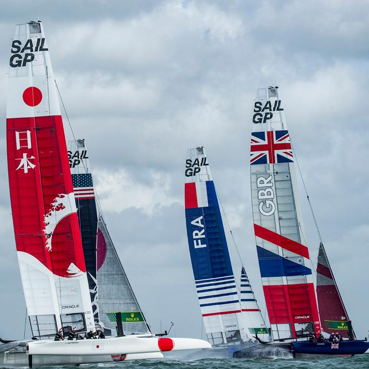 National pride is at stake as 7 countries compete at the #SydneySailGP to open the second season of @SailGP. The teams will race identical F50 foiling catamarans at blistering speeds, using supreme sailing skill to exploit the boats' cutting-edge technology. #Perpetual https://t.co/DHVwpscpoJ