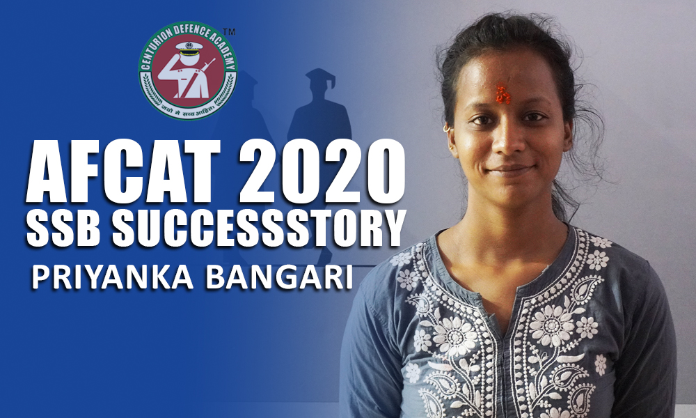 NDA 2020 SSB Success Story Priyanka Bangari Read Now: https://www.centuriondefenceacademy.com/blog/SSB-Interview/afcat-2020-ssb-success-story-priyanka-bangari…  #SSBSuccessStory #AFSBSuccessStorypic.twitter.com/1fB7SomtkM