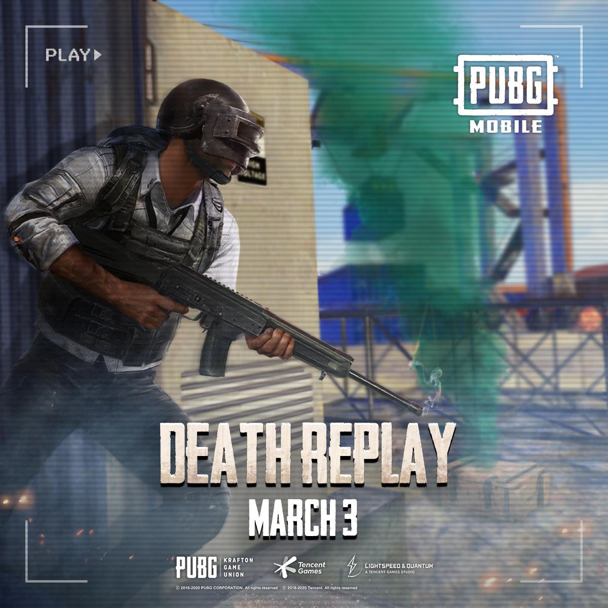 pubg mobile season 12 death replays