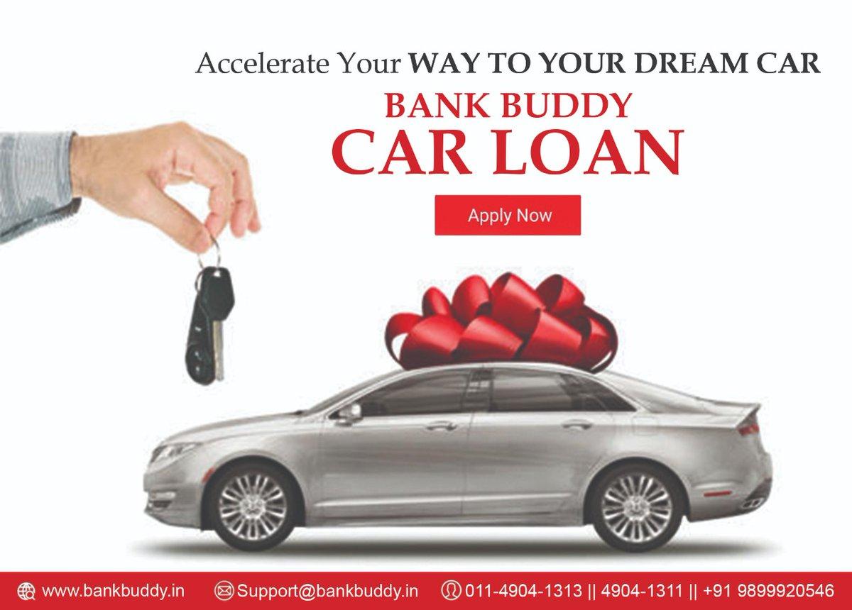 Accelerate Your Way To Your Dream Car with Bank Buddy Car Loan  Minimum Documentation Minimum Time Guaranteed Minimum Rate of Interest  @9899920546 : http://bankbuddy.in  #pesonalloan #carloan #homeloan #loan #delhincr #gurgaon #ghaziabad #newdelhi #propertiespic.twitter.com/5jcHs9PqdR