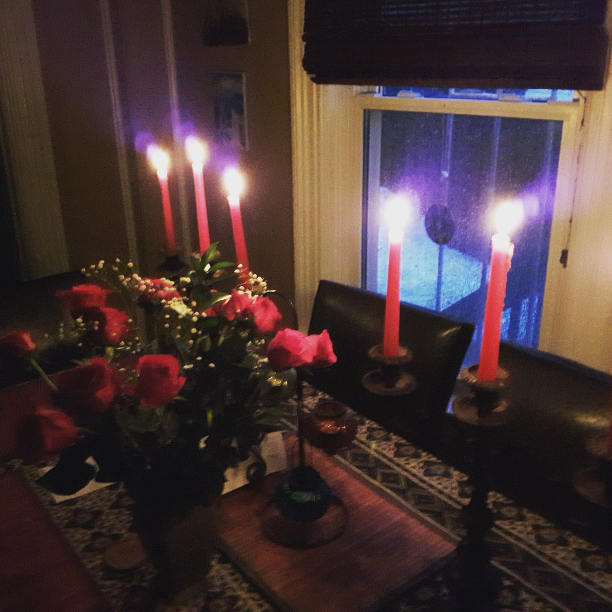 Power was out last night so we had candles lit. Had to get a photo.  #Halifax #poweroutage #candles #photo #fridaymotivation