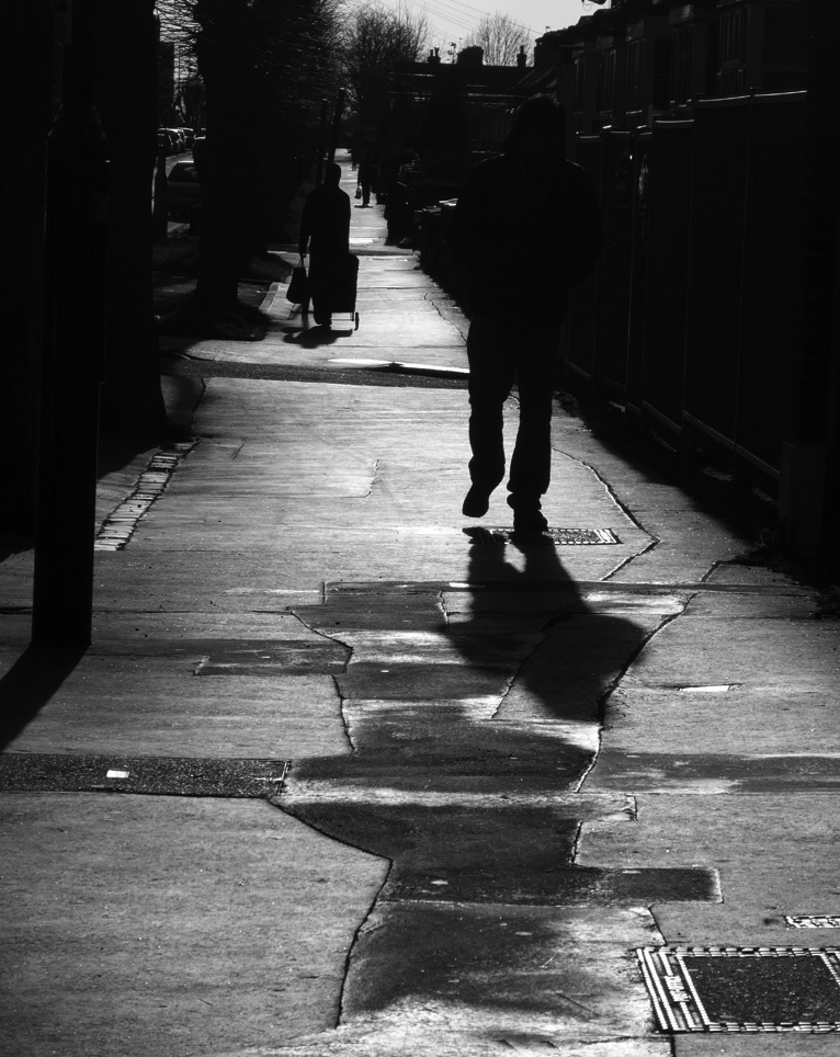An abstract view of a street #blackandwhite #blackandwhitephotography #photography #photo
