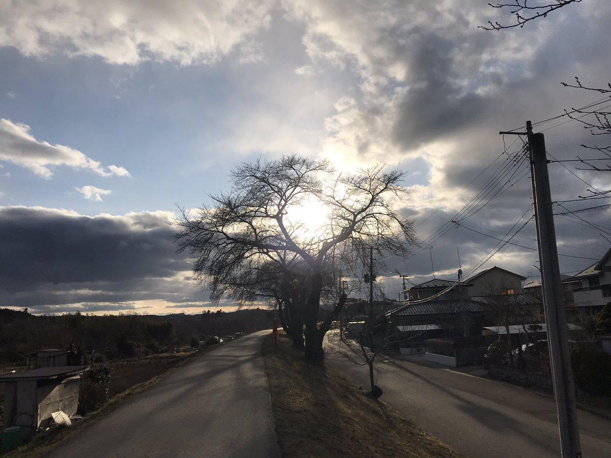空がキレイだった  #photo #photograph  Megumi Tanibayashi(^人^)  #tohoku #iwate   20200228 谷林めぐみ