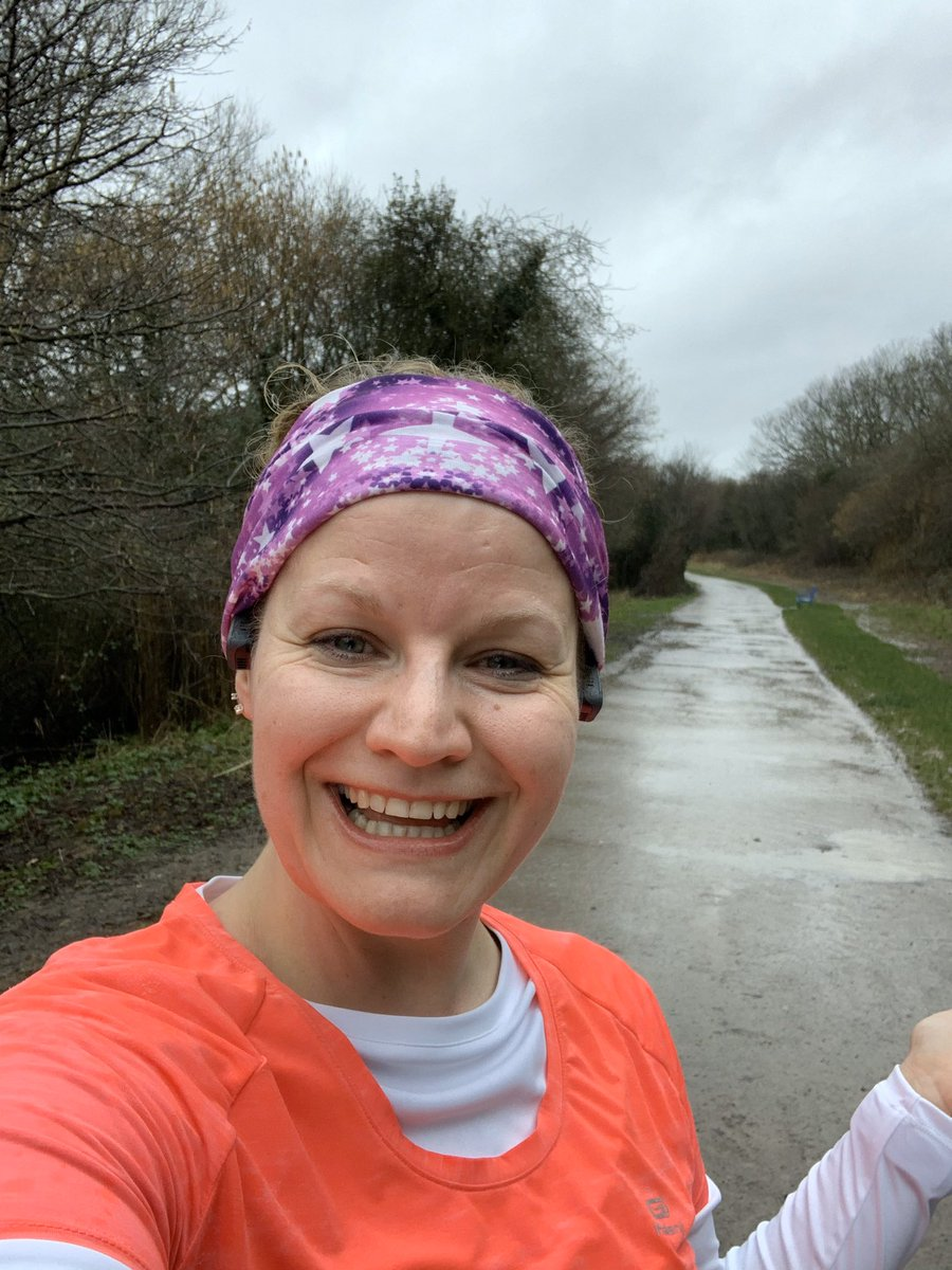 Kicking off the 1st day of my forties with a muddy puddle run like a 4yr old!  There may be mountains ahead of us but this is my statement that I won't be beaten and I will not quit!  #liveyourbestlife <br>http://pic.twitter.com/CJhGHI4jCC