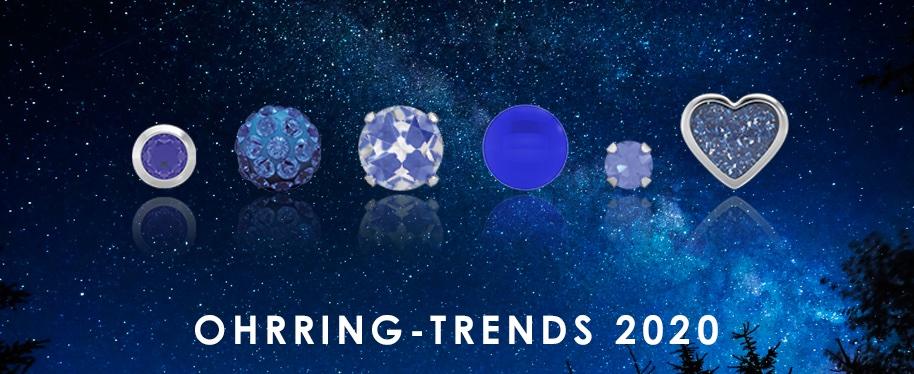 Ohrring-Trends 2020: Klassisches Blau 💙🌀🦋🐬💧💎🧿   #studex #system75 #ohrlochstechen #classicblue #klassischesblau #blau #blue #farbedesjahres #coloroftheyear #kombination #inspiration #trend #schmuck