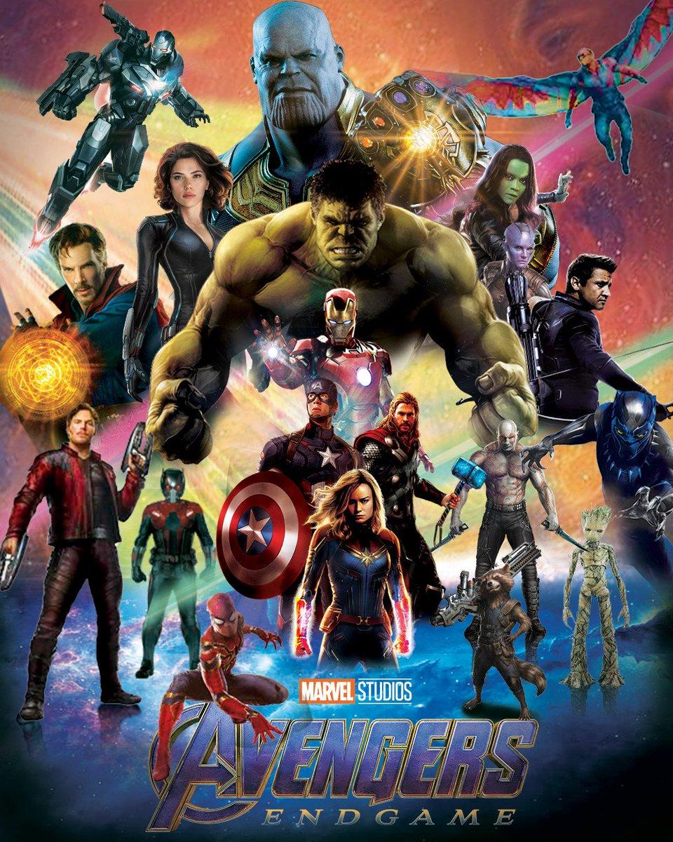 Remake of endgame poster.... . . . #avengersendgame #avengers #marvrlmemes #movie #marveluniverse #marvelfan #marvel #marvelcomics #posterart #posterdesign #posters #superhero #superheroes #villain #movieposter #movieloverspic.twitter.com/pYqfRqIk1n