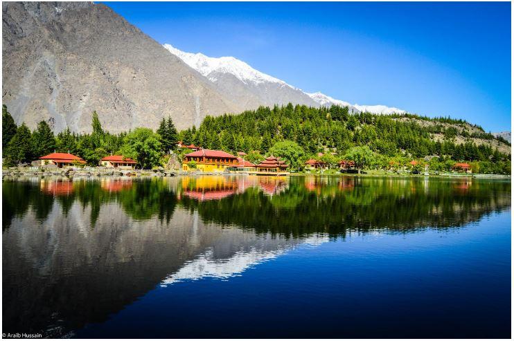 lower #kachuraLake or #shangrila Lake in #Skardu city in #GilgitBaltistan