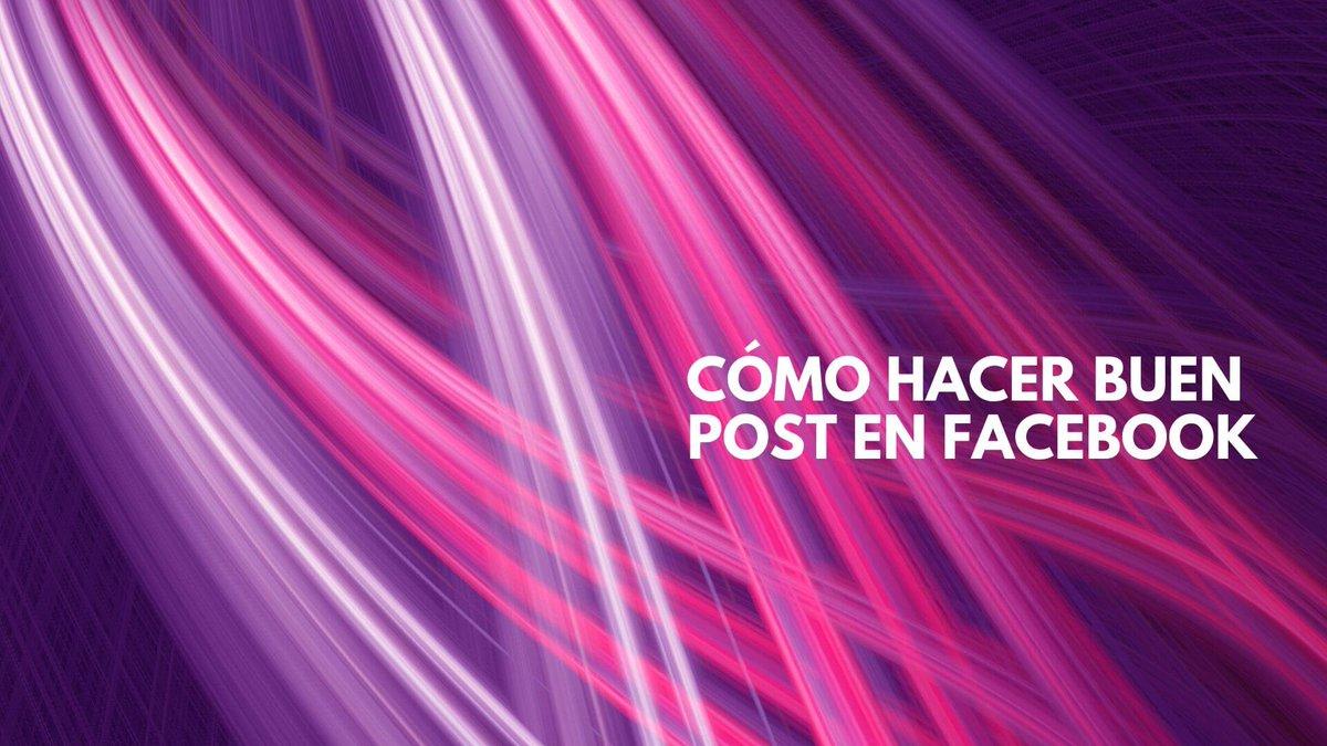 👉 ¿Cómo hacer un buen post en tu página de Facebook? Consejos para hacer un buen post en Facebook 💥💥https://fernandocebolla.com/como-hacer-un-buen-post-en-tu-pagina-de-facebook/…#felizmiércoles