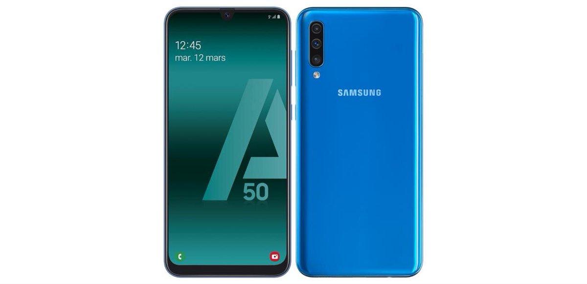 "Smartphone 6,4"" Samsung Galaxy A50 (128 Go) à 269 euros http://dlvr.it/RQvbJQpic.twitter.com/RoB5EcVriA"