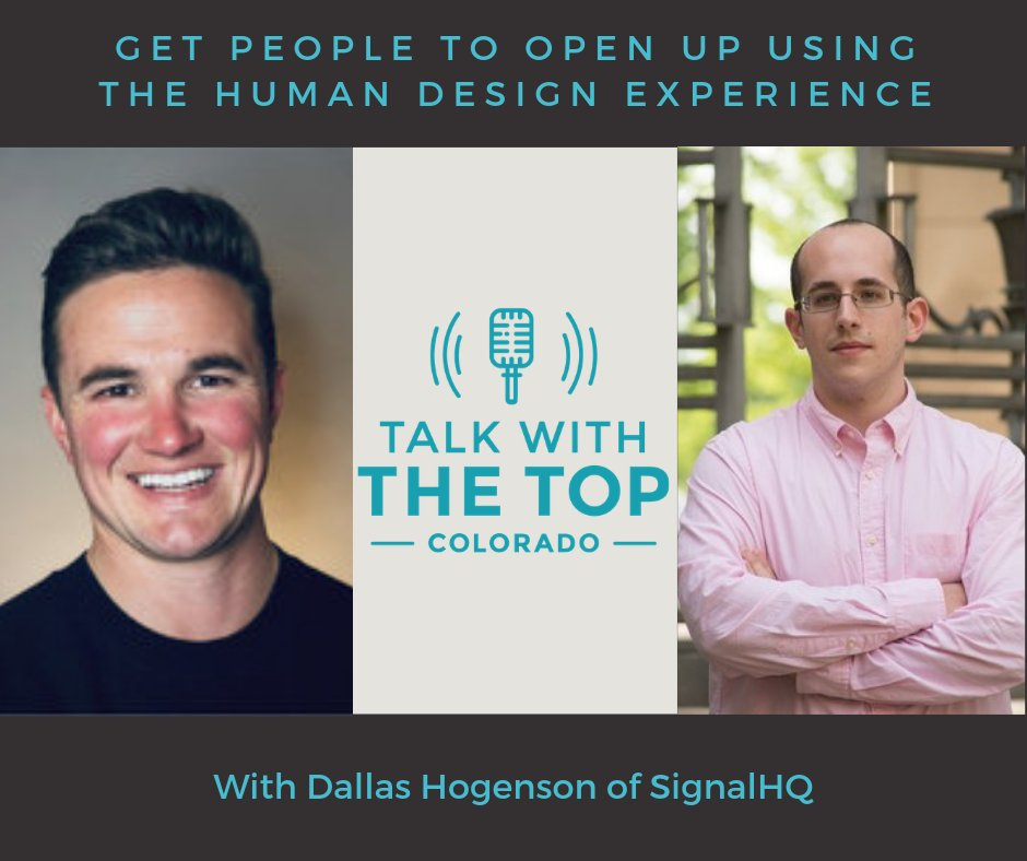 In this episode of Talk with the Top: Colorado, Dallas Hogensen of Signal HQ shares insight on how to bridge the gap between sales and marketing. #B2Bcontentmarketing #B2Bpodcasting buff.ly/2yvtayL