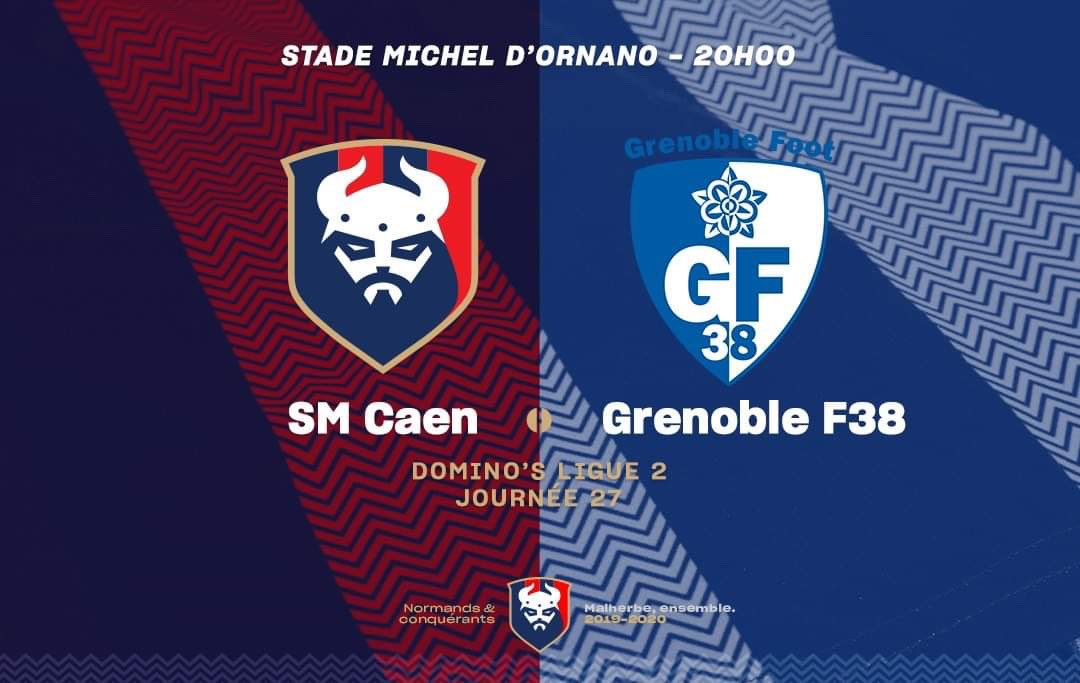 [27e journée de L2] SM Caen 2-0 Grenoble Foot 38 ER2ZOM_XUAA7uIN