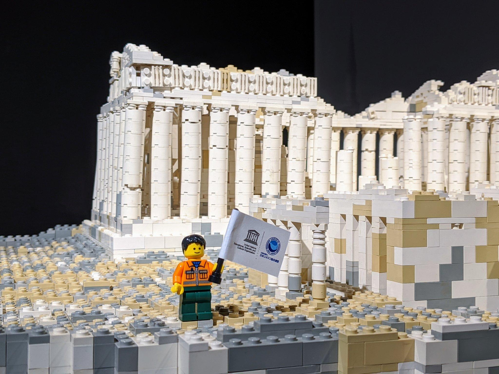 PIECE OF PEACE『レゴ®ブロック』で作った世界遺産展 PART-4