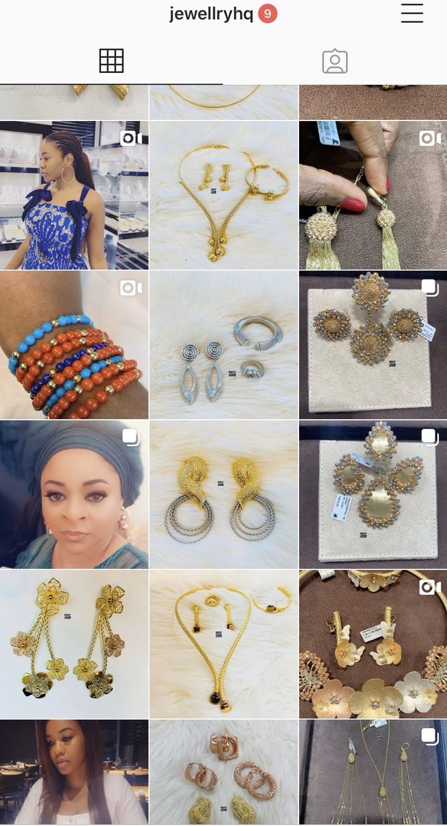 I'm a #jeweller! I sell stylish #18karats gold pieces of all kinds and for every one. Instagram handle @jewellryhq.💛