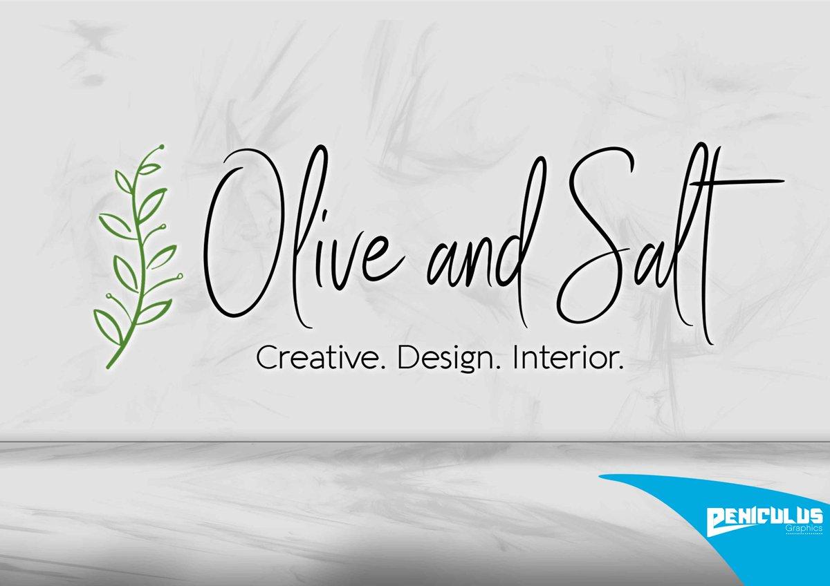Logodesign  Vielen Dank für die Zusammenarbeit Olive and Salt.   #olive #salt #logo #logodesign #grafikdesign #grafiker #designer #digitaldesign #berlin #print #printdesign #illustration #webdesign #farb #artdesign #color