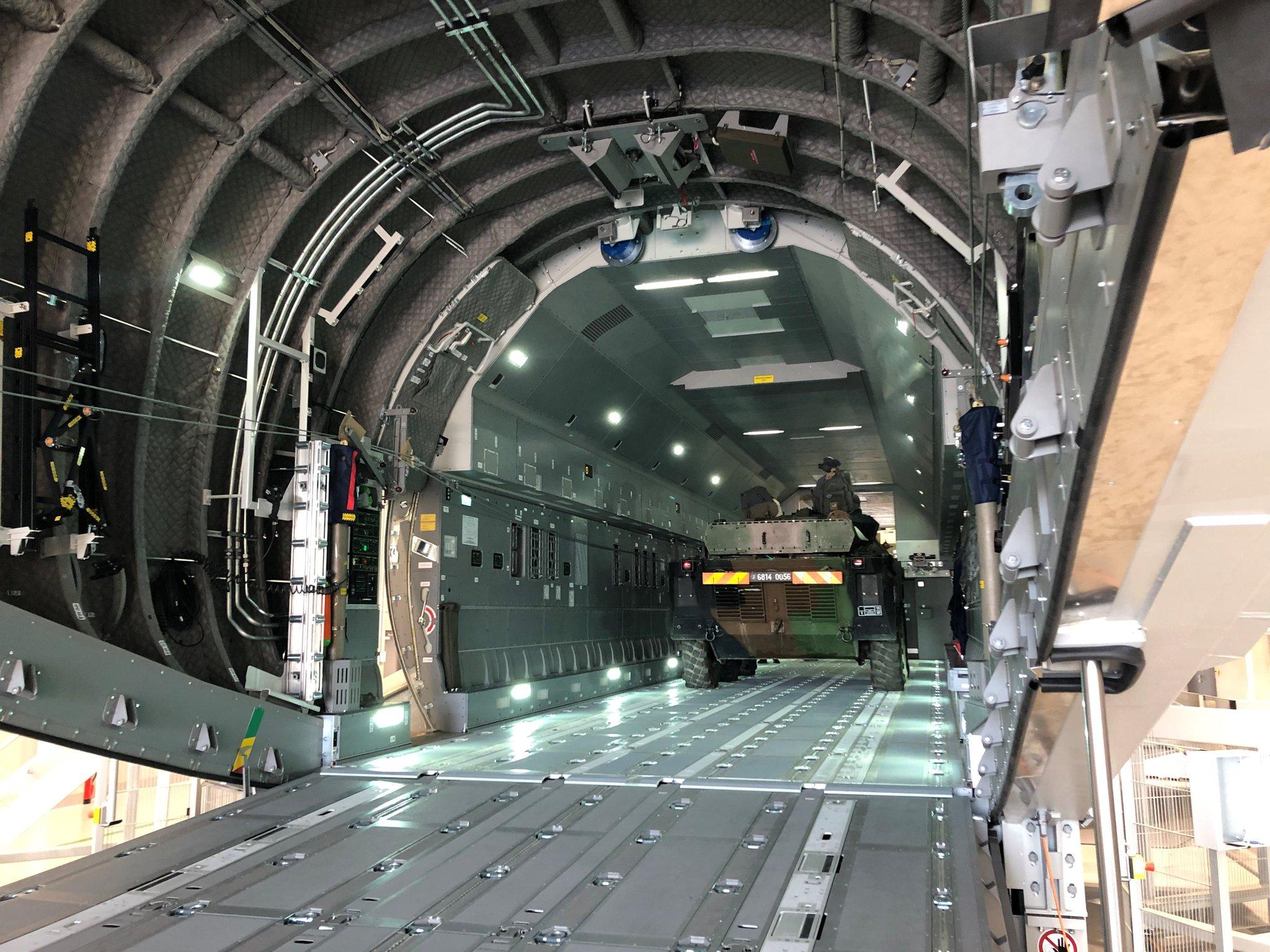 Rheinmetall A400M Cargo Hold Trainer - Enhanced (CHT-E).
