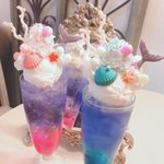 【人魚姫になった気分】京都のカフェにあるフロートが綺麗すぎてSNS映え