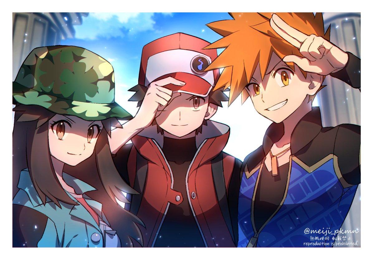 レッド・グリーン・リーフ  #ポケモンマスターズ #PokemonMasters