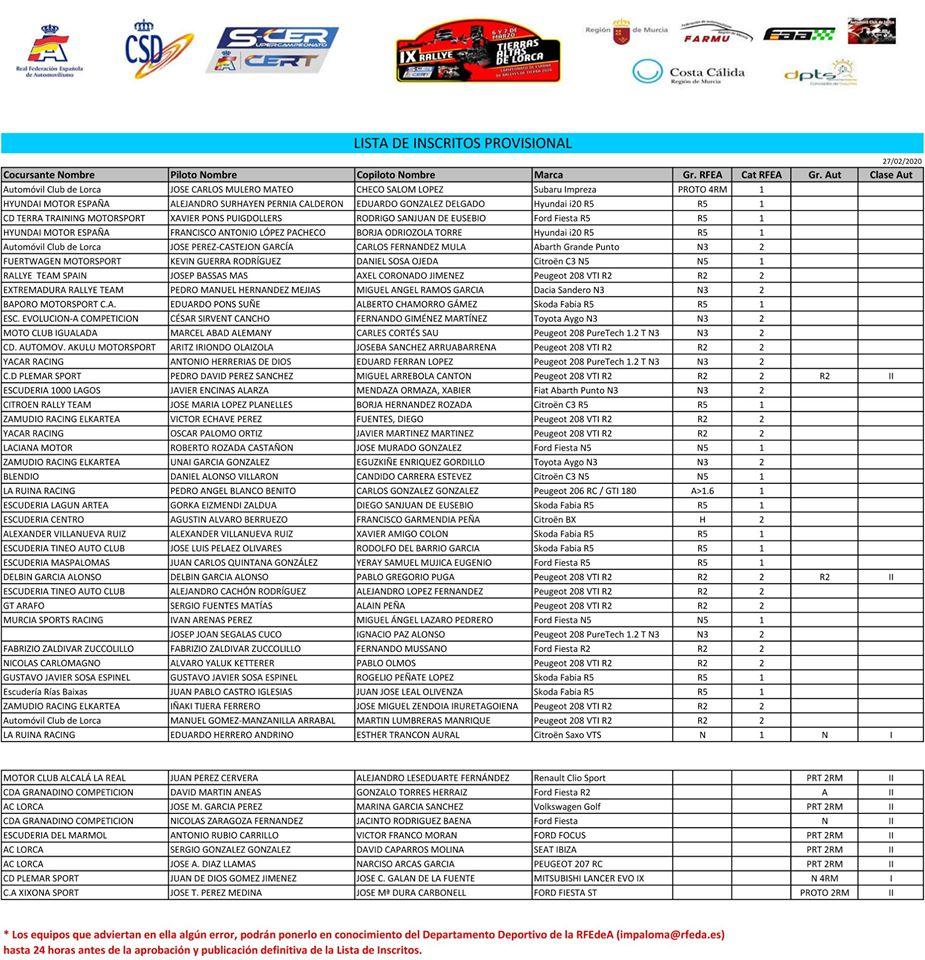 SCER + CERT: IX Rallye Tierras Altas de Lorca [6-7 Marzo] ER2x6RYWAAAnlIR?format=jpg&name=medium