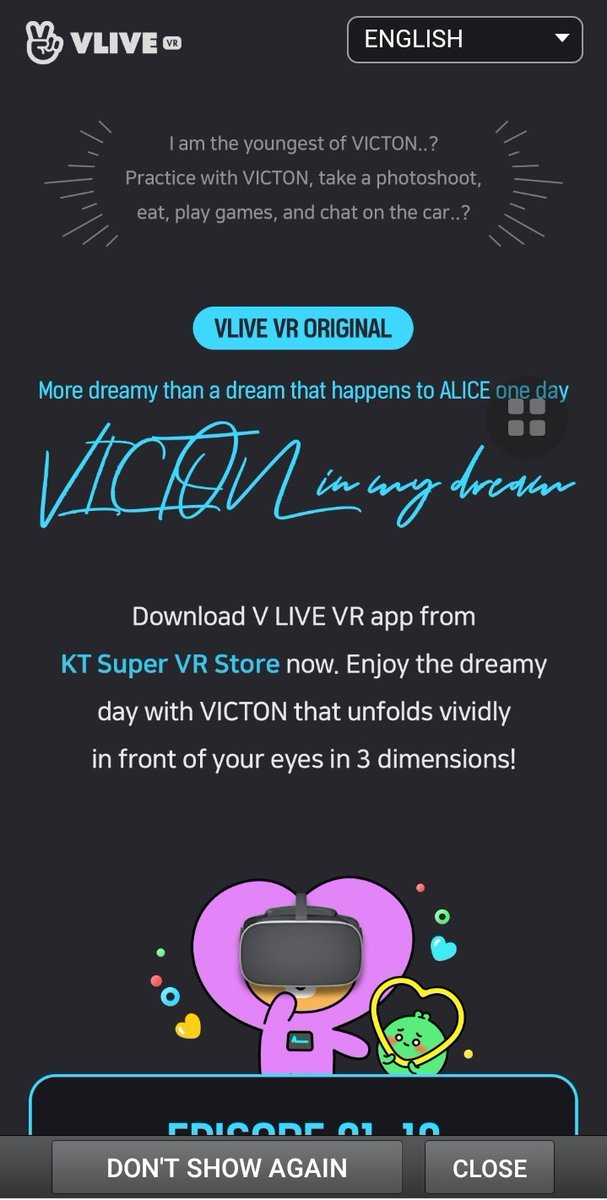 "What is ""VICTON In My Dream"" ? it's a content from VLIVE VR where we we can watch their contents in 3D so basically this is just me7nam 2.0 but we are the invisible girl ajshshabhagagahhahahahahhaa im choked <br>http://pic.twitter.com/2Pk4nbWnUi"