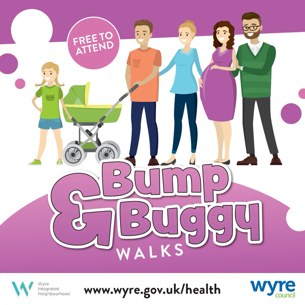 Join our new Bump and Buggy walks from the Wyreside café at the Stanah country park. Free to attend, no need to book just turn up for a 10.30am start. Every 1st and 3rd Thursday from March to September. Stay for a chat and a drink afterwards #HealthierWyre #newparents #Thorntonpic.twitter.com/VlTA4eLOeo