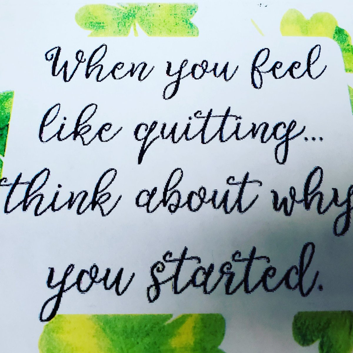 I noticed this on my March calendar on my desk at work today and thought it fit well with my mantra, #ISitIQuit. Hits home for sure!   #OperationTransformation #WWConnect #WeightWatchers #WW #WeightLoss #Health #Fitness #Workout #Workouts #Gym #GymLife #GymTime #WorkoutVideospic.twitter.com/PRwB73Qsc9