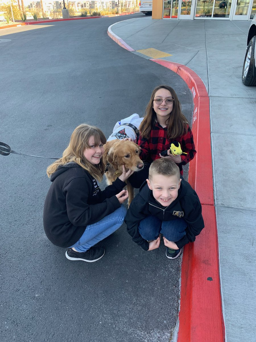 At practice on Thursday with some fans...7 in a row!#GoldieVegasCheerleader#VGKTalk#VegasGoldenKnights #dogstagram #goldens #puppies #dogoftheday #dogs #dog #puppiesofinstagram #ilovegolden #goldenretrieversworld #goldenretrieversofinstagram #welovegoldens #gloriousgoldens