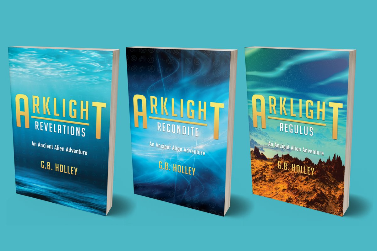 "A mysterious marker found in the Bahamas.    An alien controlled POTUS. A secret government agency. Dangerous encounters.  The ARKLIGHT Ancient Alien Adventure trilogy.  ""I am HOOKED!"" #ThursdayThoughts #scifi #reading @UFO_Researcher @UFOinsightcom @UAP1949 @Car01am #Space #UFO"