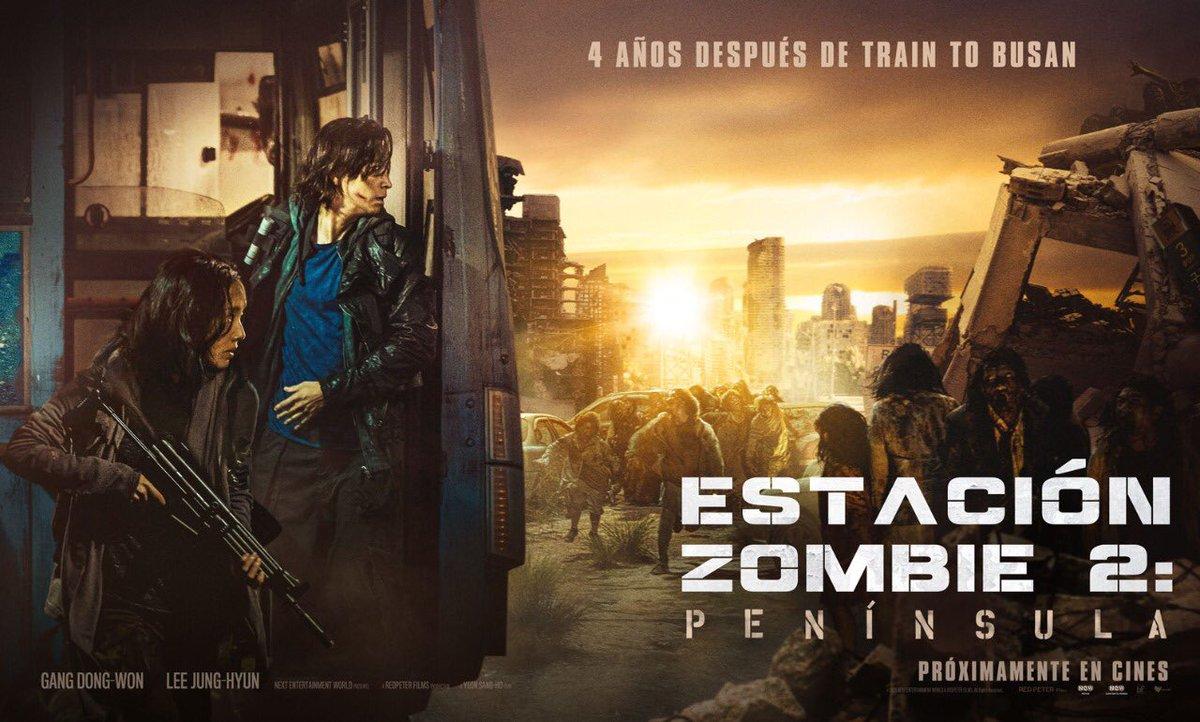 Este 6 de agosto estrenamos #EstaciónZombie2 #Península 🧟😱 ¡La historia continúa 4 años después del brote de zombies que azotó a los pasajeros del tren bala rumbo a Busan! https://t.co/EvliY9LVrr