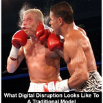 Image for the Tweet beginning: Disruptive innovation can hurt if