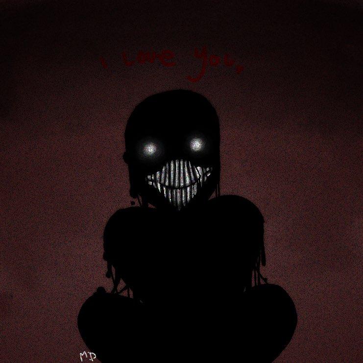 he loves you :) #horror #tar #monster #happy