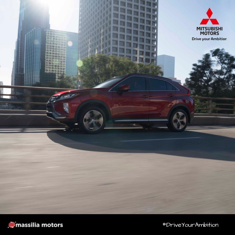 Make all the right moves in relaxed comfort.  #EclipseCross #DriveYourAmbition  #MitsubishiMotors
