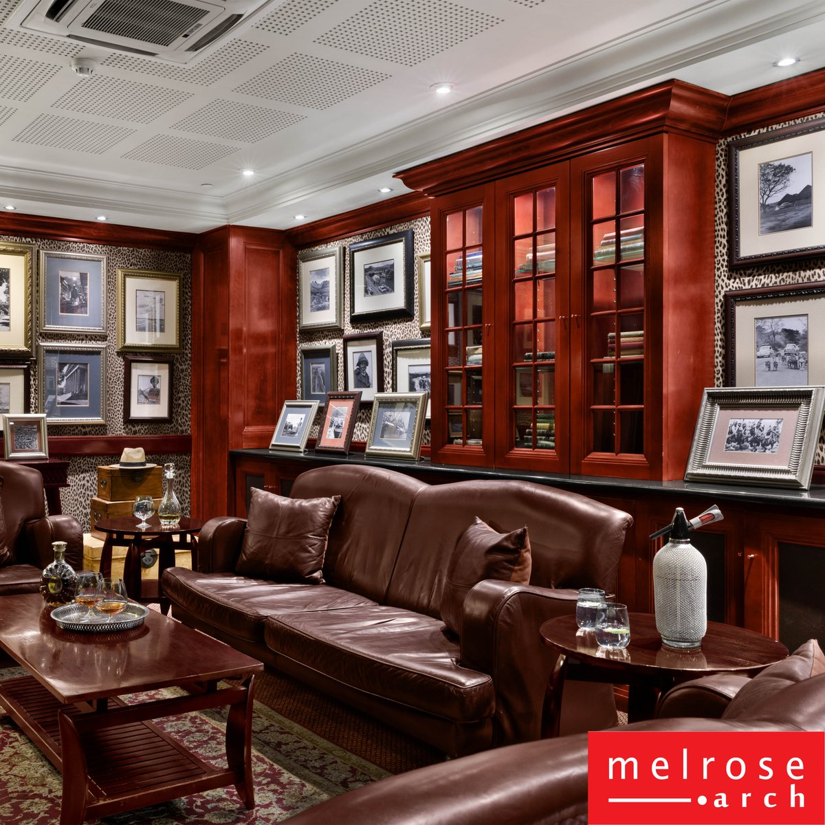 Sit back and relax as you sip fine whiskey at the African Pride Melrose Arch Autograph Collection Library Bar this weekend.  .  #MelroseArch #Live #Work #Play #AfricanPrideMelroseArch #MelroseArchHotel #LibraryBar