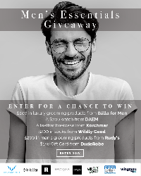 Win a Men's Luxury Prize Package ($1,210)!  #win #free #mensfashion #mensgrooming #beardgrooming #sweepstakes #giveaway #contest #sorteo #concurso   Enter here >> http://www.dojomojo.com/landing/?promo_id=d9582531-1320-408b-8bc5-5de1c2503a08&campaign_id=83d08e49-fcda-45d2-8ecb-be5adb95351a&title=Men's%20Essentials%20Giveaway&share_message=A%20mens'%20focused%20giveaway.%20&share_image=http://innovation-brand-logos.s3.amazonaws.com/campaign-images/8622267a-509d-4a13-ac04-ec53b877c892/main.png&initiative=cb81cca7e95ab23d6c4c3dc91b3f5238a6375c372116a1714cc92762aa0e8393&bonus_id=44910 …pic.twitter.com/raTWF2GOg8