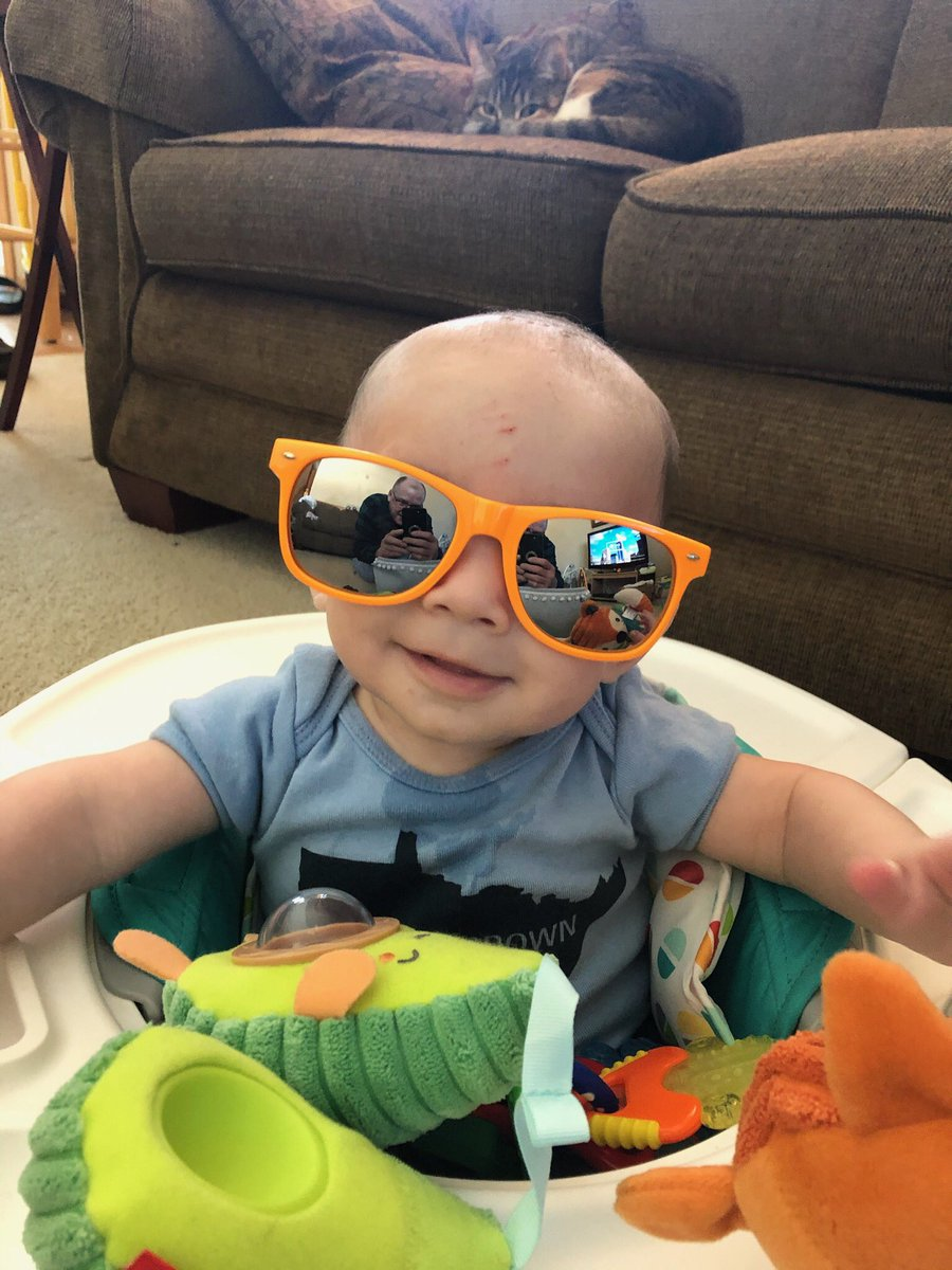 @WCCO My little guy will be six months old this weekend; we will be trying to enjoy some warm weather! And maybe sunshine? #mymorning
