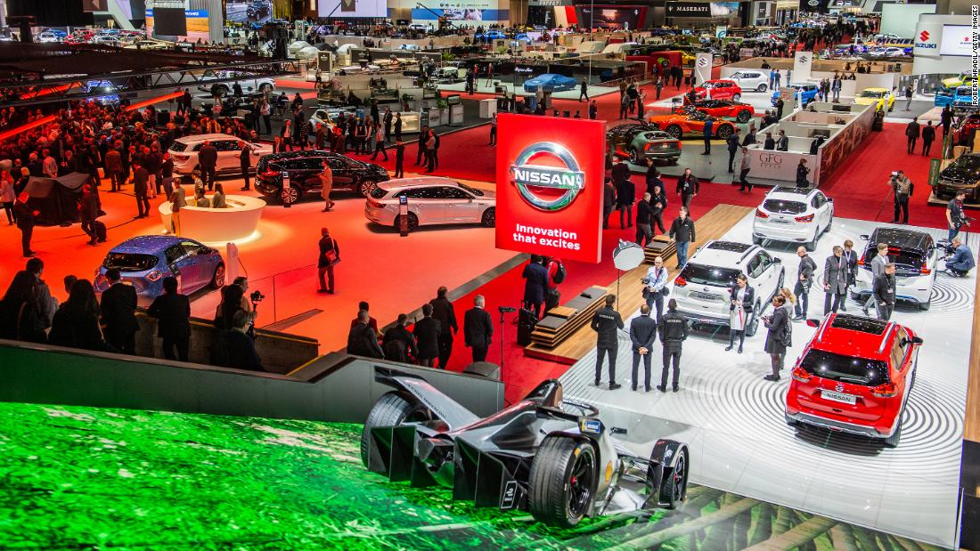 Next week's Geneva Motor Show has been canceled over coronavirus fears. More than 600,000 people typically attend. https://cnn.it/32KvY9H