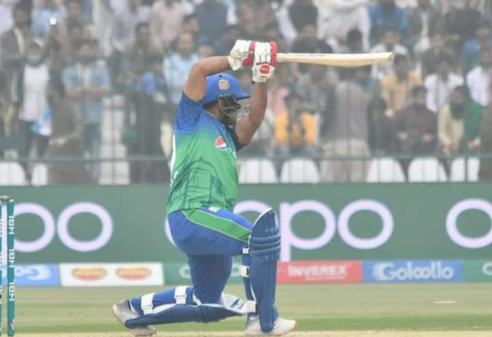Inning break!  Multan Sultans set a target of 187 for Karachi Kings #PSL2020 #MSvKK<br>http://pic.twitter.com/XkAVByhDYE