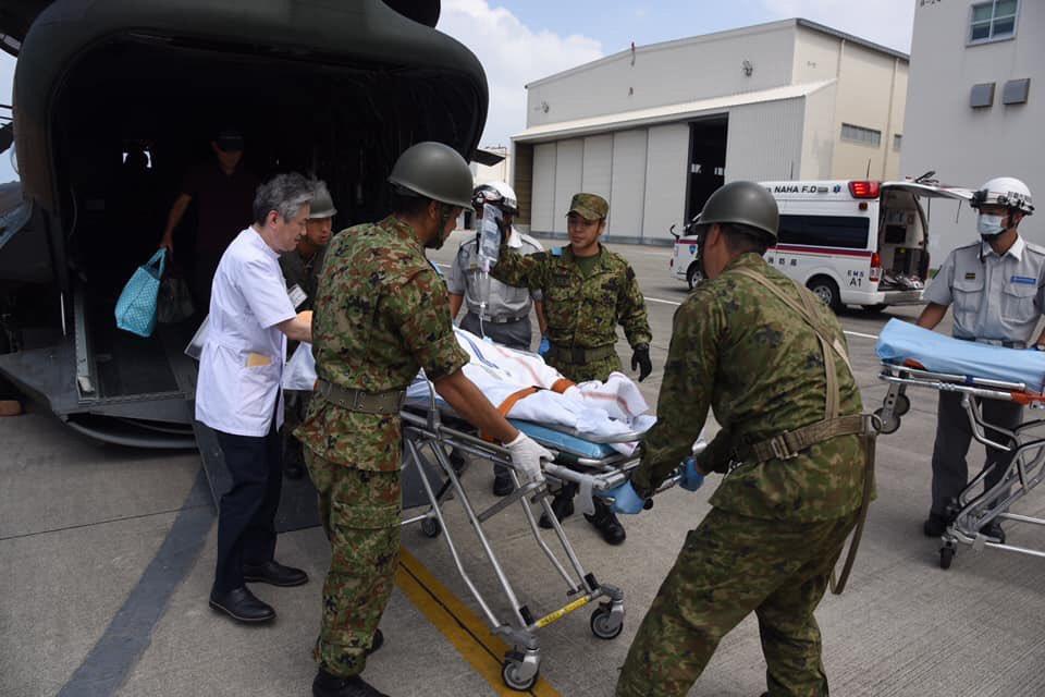 【緊急患者空輸及び不発弾処理の実績】令和2年2月28日現在緊急患者空輸9634件 9995名不発弾処理37974件 1822トン今後も引き続き第15旅団は県民の皆様の安全を守るため日々任務に邁進してまいります。#沖縄 #自衛隊 #緊急患者 #空輸 #不発弾処理