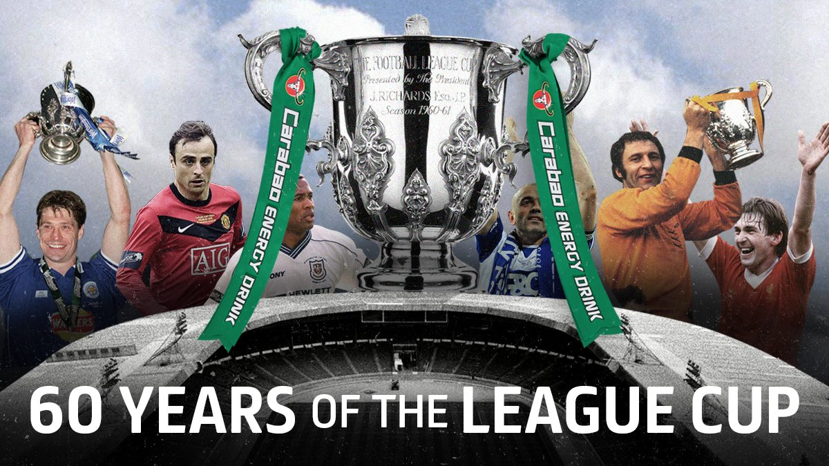 This weekend will mark 60 years since the first League Cup fixtures were played!   #EFL | #CarabaoCup https://t.co/TV66MY6bZf