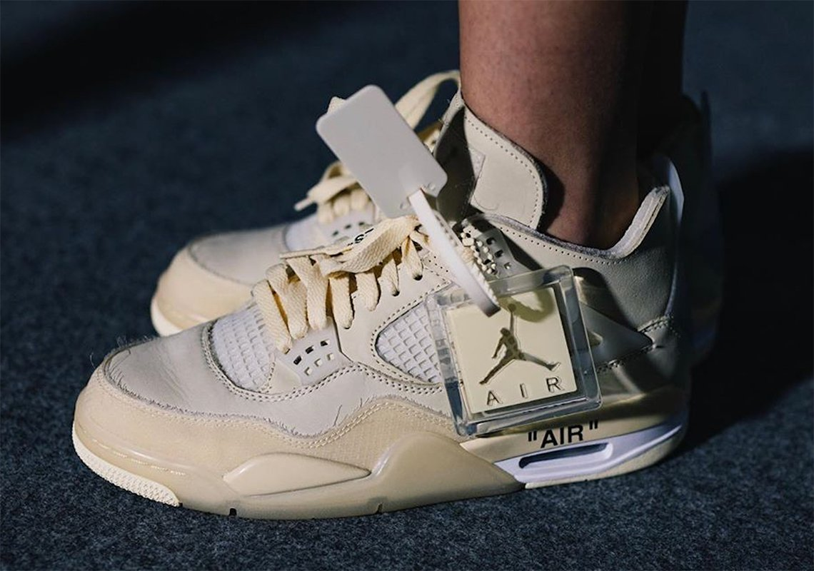Off-White's next Air Jordan 4 collaboration is rumored to be releasing in women's sizing only  https:// snkrne.ws/2T2K5np     <br>http://pic.twitter.com/FstUNKeIoP