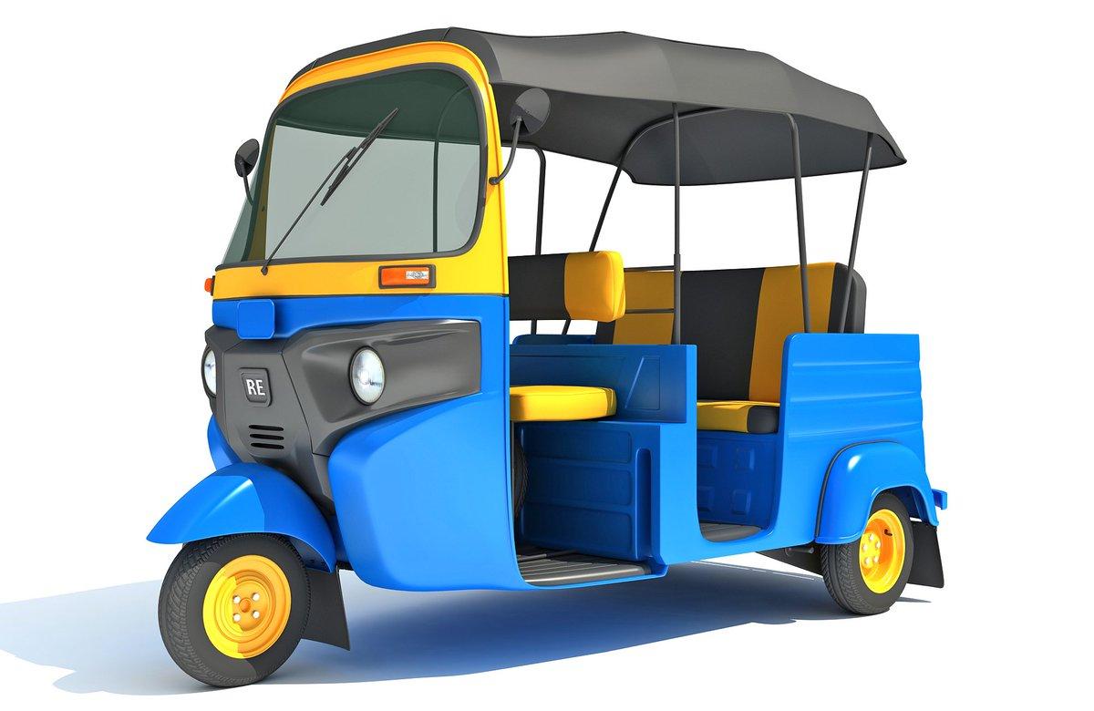 Mini Taxi Auto Rickshaw 3D model #3d #3dmodels #3dmodel #3ds #3dsmax #3dmodeling #rickshaw #ricksha #tuktuk #tuk #tuk #wheel #passenger #seat #taxi #bicycle #cart #tricycle #mini #racksha #trishaw #velotaxi #bikecab #cyclo #beca #trisikad #transport