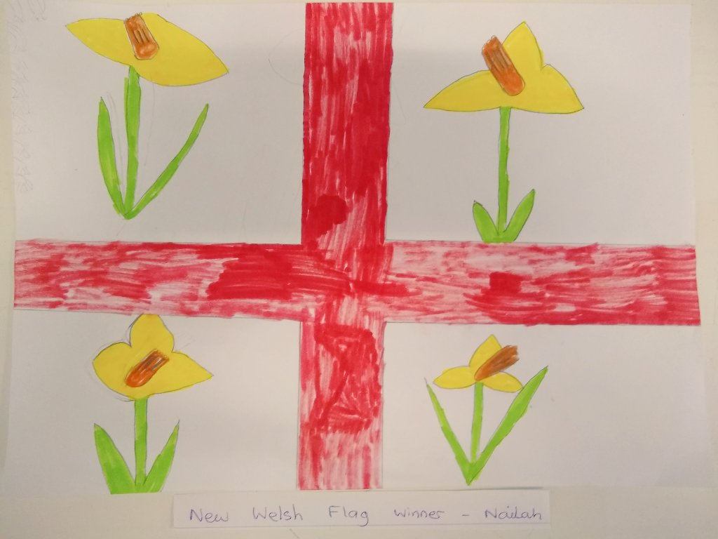 Da iawn to our Flag competition winner pic.twitter.com/N2corZDokx