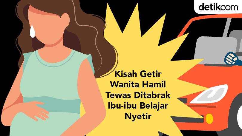 #THREAD Simak kisah seorang ibu muda berinisial SR (26) yang tengah hamil tewas setelah ditabrak mobil di Palmerah, Jakarta Barat. Tragisnya, janin berusia 5 bulan di kandungannya ikut tewas. http://detik.id/6HgyUM