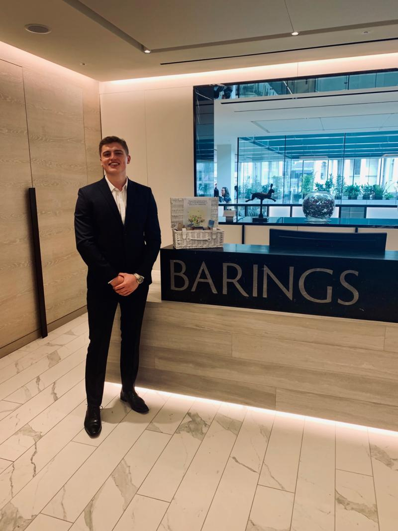Stage 3 students Reg & Muhammed attended an @Investment_20/20 Insight Event at @Barings in London this week, networking, hearing about careers in the sector, with the aim of opening up opportunities in investment banking to more #diversetalent.  #gradcareers #investmentpic.twitter.com/1VRdKJAS8X