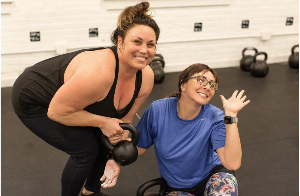 """""""Anything is possible when you have the right people there to support you."""" #gymfam #ka_athletics #trainwithkristy #strongereveryday #fitness #health #goals #gym #downtownromega #investinyourself"""