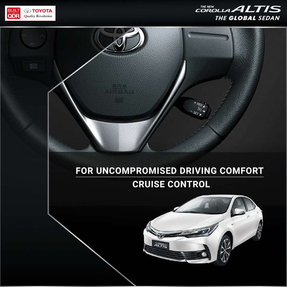 Cruise away to comfort in the #Toyota #CorollaAltis  Visit https://t.co/G1HmwTAIuU for more https://t.co/atxcJwiqau