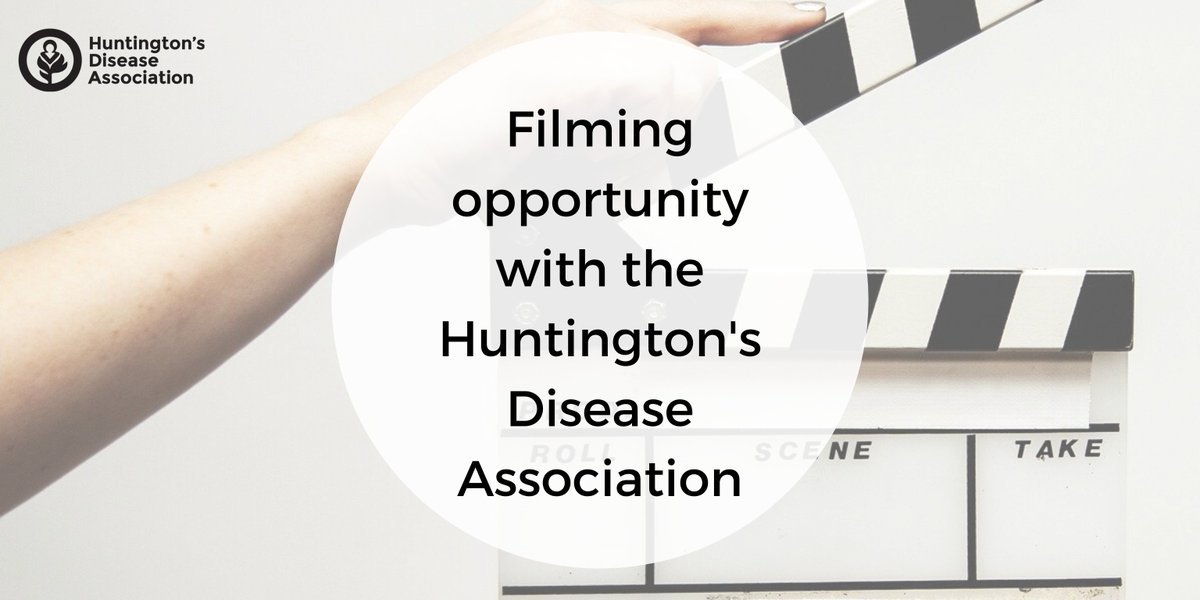 We are looking for a carer aged 60+ and, ideally, the person they care for to be filmed for a short documentary that we are commissioning as part of our Older Carers Project. Please email us at comms@hda.org.uk for more info! #LetsTalkHuntingtons #HuntingtonsDisease<br>http://pic.twitter.com/lhXBDu1FVb