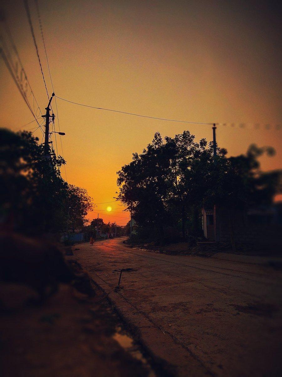 #sunset good evening... #vivos1pro  @HiHyderabad