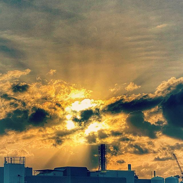 #sunset #shotoniphone